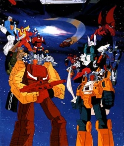 Transformers: The Headmasters Anime