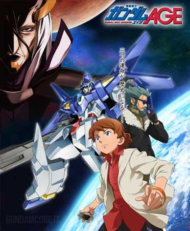 Gundam AGE Généarion 3 Kio Asuno