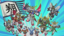 SD Gundam Sangokuden Brave Battle Warriors vostfr