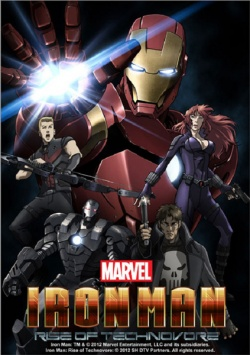 Iron Man: Rise of Technovore Anime