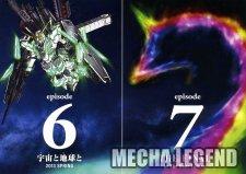 Gundam Unicorn 6 et 7
