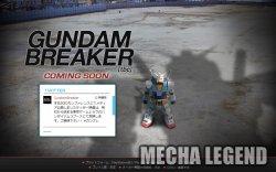 Gundam Breaker PS3 PS Vita
