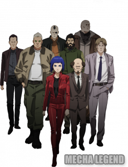 Ghost in the Shell Arise OAV