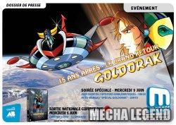 Soirée spéciale Goldorak sur Mangas en Juin