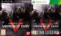 Armored Core: Verdict Day PAL Cover