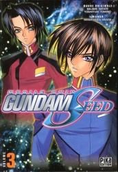 Mobile Suit Gundam Seed Volume 3 Manga