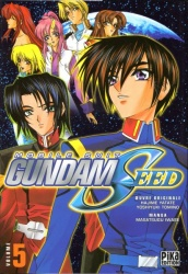 Mobile Suit Gundam Seed Volume 5 Manga