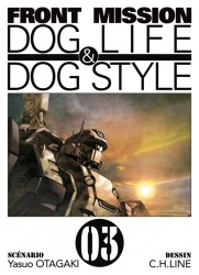 Front Mission - Dog Life & Dog Style Volume 3 Manga
