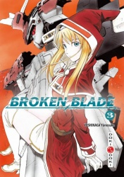 Broken Blade Volume 3 Manga