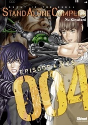 Ghost in the Shell: Stand Alone Complex Volume 4 Manga