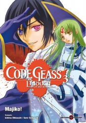 Code Geass - Lelouch of the Rebellion Volume 3 Manga