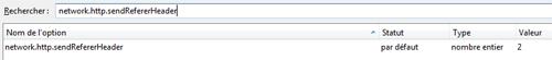 Désactiver votre Referer sous Firefox